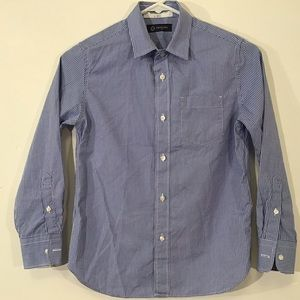 Crewcuts Sz.10/12 Boy Gingham Check Thompson Shirt
